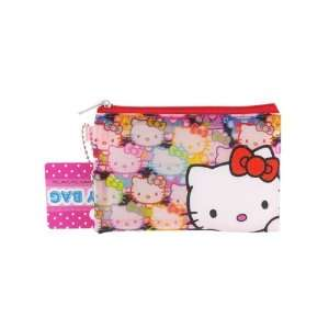 Attractive Hello Kitty Girls Coin Wallet Purse Blue