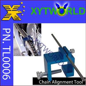 Chain sprocket Alignment Tool Motorcycle ATV BIKE