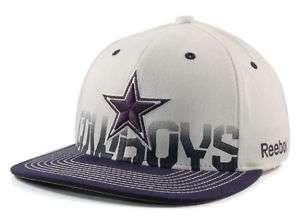 Dallas Cowboys Hat Cap Reebok NFL Sideline Flex Fit Small / Medium