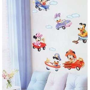 Baby Mickey Mouse Mural Wall Home Art Deco Sticker DS
