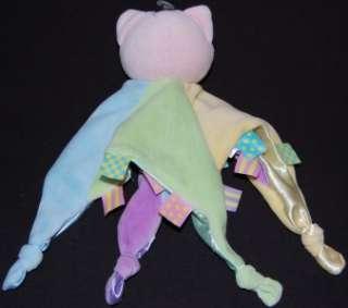 NWT Kids Preferred Baby Girls Pink Plush Stuffed Toy Kitty Cat