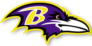 BALTIMORE RAVENS   NFL Logo wall,window,sticker,decal