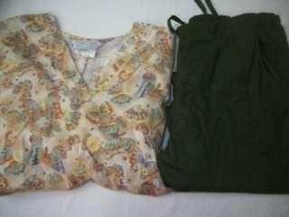Lot 8 pattern Dental Nurse Vet Medical Scrubs Outfits Sets Sml Sm