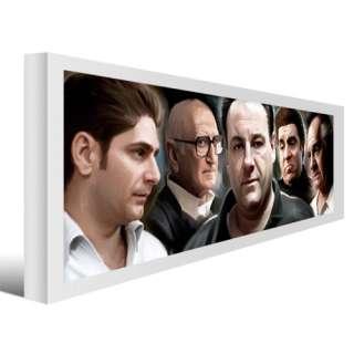 SOPRANOS TONY mafia Complete Season dvd PAINTING #C