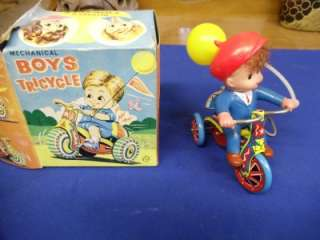 up Toy Mechanical Boys or Girls TRICYCLE (BOY is in the Box)