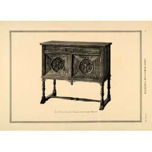 1918 Print Royal Furniture Sideboard Grand Rapids MI