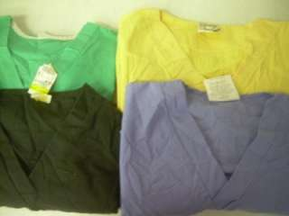 Medical Dental Scrubs Lot of 18 Solid Shirts Tops Size S Sm Small