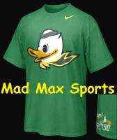 OREGON DUCKS Nike PUDDLES Pro Combat NCAA RIVALRY Green T SHIRT Jersey
