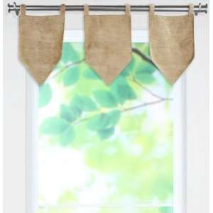 Archaeology Collection Valances   tab top valance, Anemone Baby